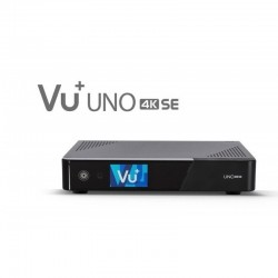 VU+ Uno 4K SE 1x DVB-C FBC Twin Tuner PVR ready Linux Receiver UHD 2160p